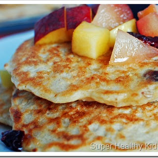 Super Duper Oatmeal Pancakes