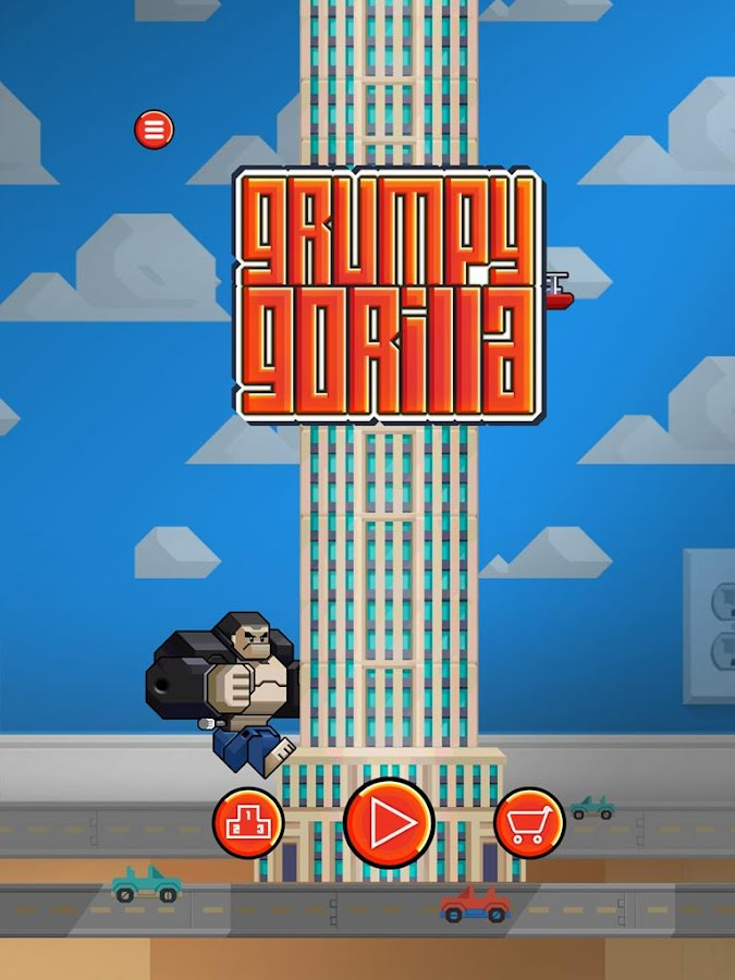 Grumpy Gorilla- screenshot