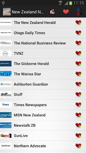 新西蘭報紙和新聞