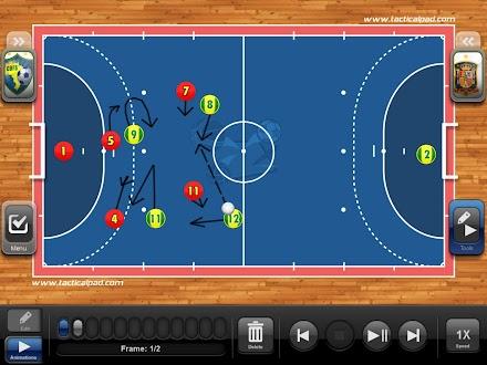TacticalPad Futsal Gratis