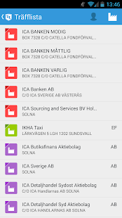 Ratsit.se- screenshot thumbnail