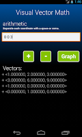 Screenshot of Visual Vector Math