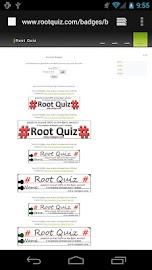 Root Quiz - Limited Screenshot 4