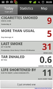 Ciggie - Quit smoking - screenshot thumbnail