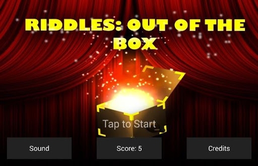 Riddles out of the box