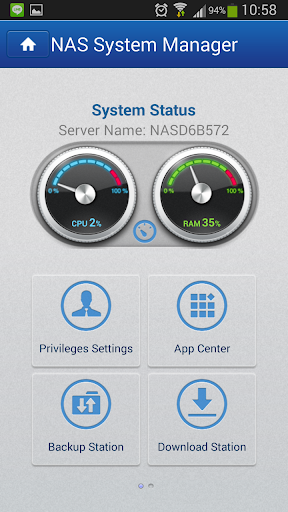 NAS System Manager by NAS App (Google Play, United States