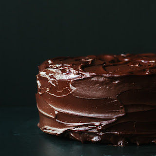 Chocolate Cherry Pound Cake.