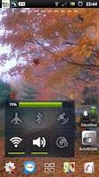 Screenshot of the autumn fall leaves LWP