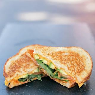 Veggie Grilled Cheese Sandwich.