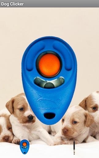 Clicker y silbato para perros