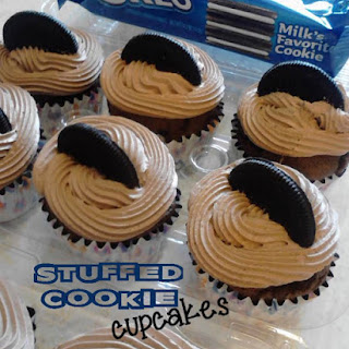 Because You Want to Make Stuffed Cookie Cupcakes