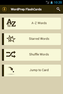 GRE WordPrep Vocab Flashcards - screenshot thumbnail