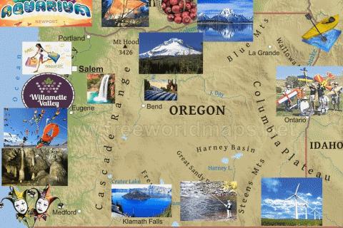Oregon Hidden Objects - Free