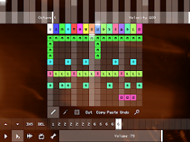 Screenshot of PixiTracker 1Bit (demo)