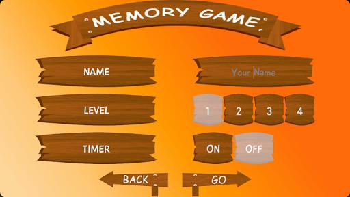 Kids Memory Game.