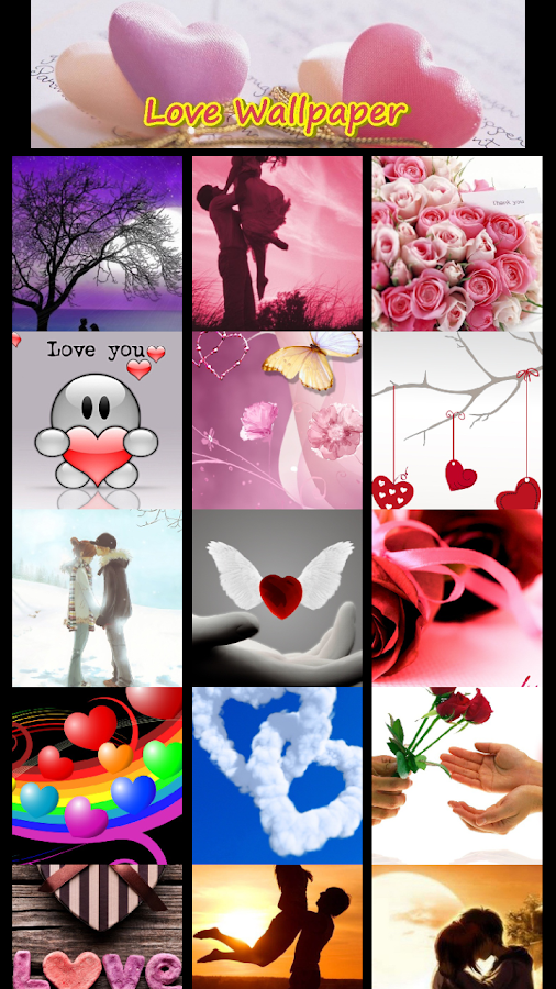Love Romantic Wallpaper - screenshot