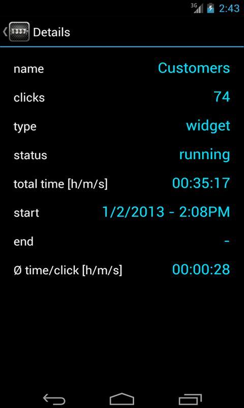 ThingCounter (tally counter) - screenshot