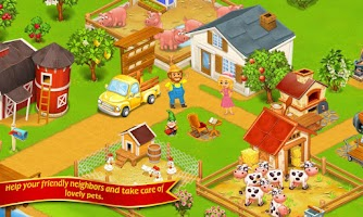 Screenshot of Farm Town:Happy City Day Story