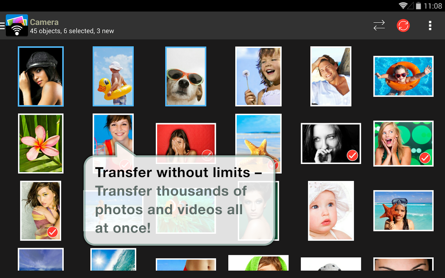 PhotoSync – Photo Transfer- screenshot