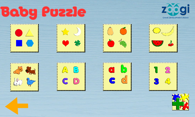Baby Puzzle- screenshot