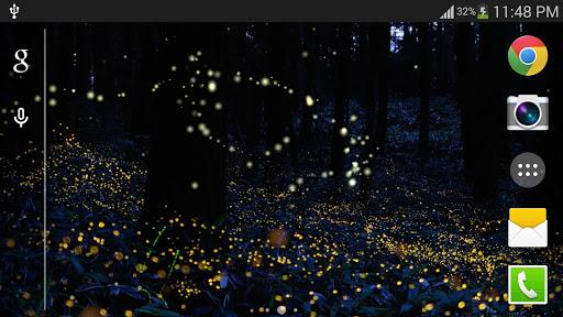 玩個人化App|叢林螢火蟲動態桌布免費|APP試玩