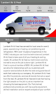 Lambert Air & Heat LLC - screenshot thumbnail