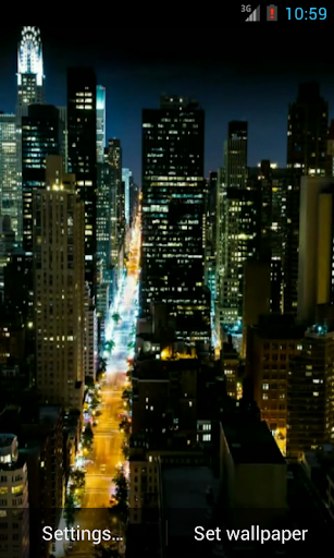 New York Video Live Wallpaper