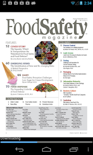 Food Safety Magazine- screenshot thumbnail