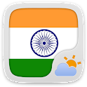 Hindi Language GO Weather EX logo