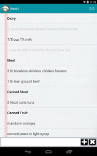 My Family Meal Planner Light- screenshot thumbnail