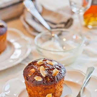 RRoasted Apricot, Vanilla and Quinoa Cakes.