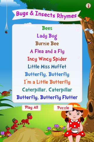 Bugs Insects Rhymes