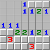 Classic Minesweeper game