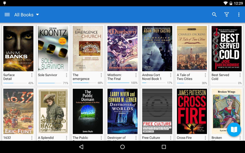 Moon+ Reader Pro (50% OFF) - screenshot