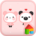 Pink Love Dodol launcher theme