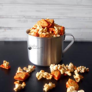 Pumpkin Spice Oreos Popcorn