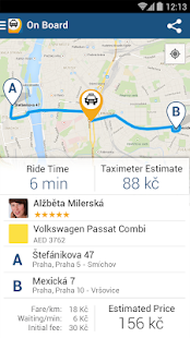 Liftago Taxi - screenshot thumbnail