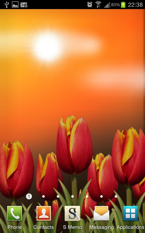Flowers HD Live Wallpaper - screenshot