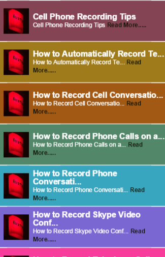 Tips to Call Recorder