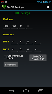 WiFi Tether Router - screenshot thumbnail