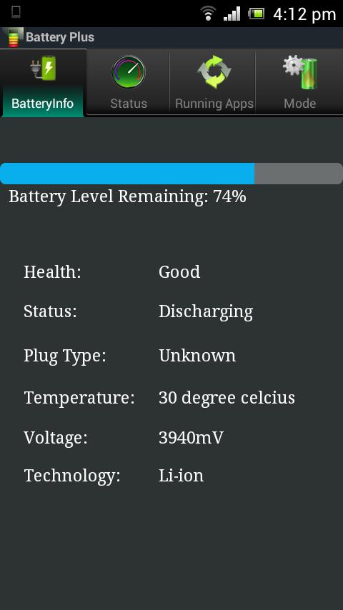 Battery Plus - screenshot