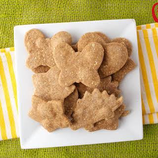 Homemade Peanut Butter Crackers.