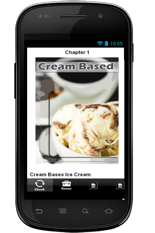 玩生活App|Cream Bases Ice Cream Recipe免費|APP試玩