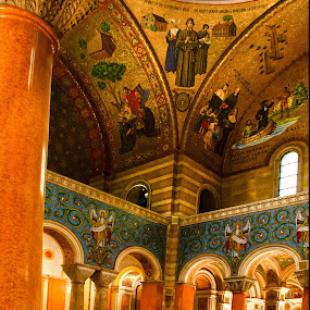 a single prayer by Jody Jedlicka - Buildings & Architecture Places of Worship ( prayer, church, left, alone, basilica )