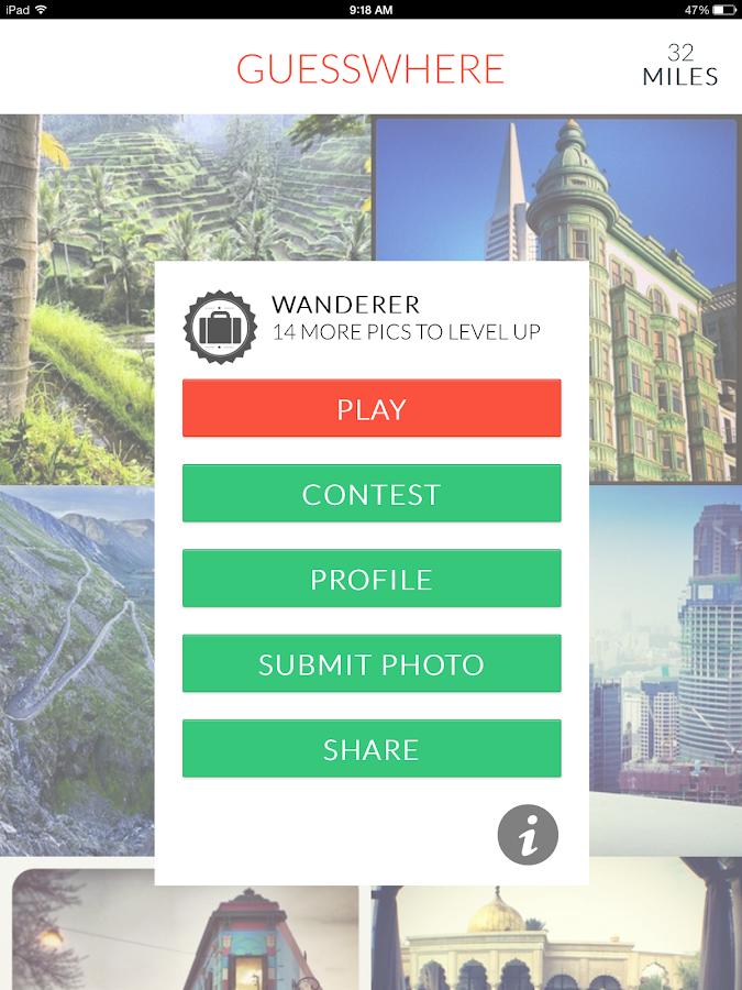 GuessWhere - Instagram Edition - screenshot