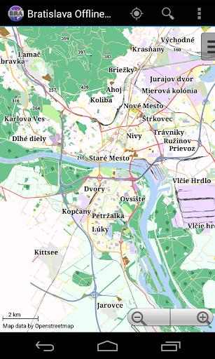 Bratislava City Map Lite