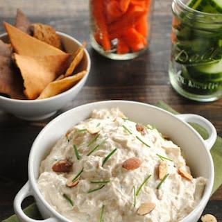 Roasted Garlic and Almond Dip