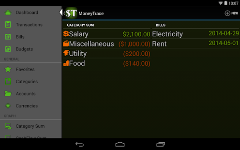 MoneyTrace- screenshot thumbnail