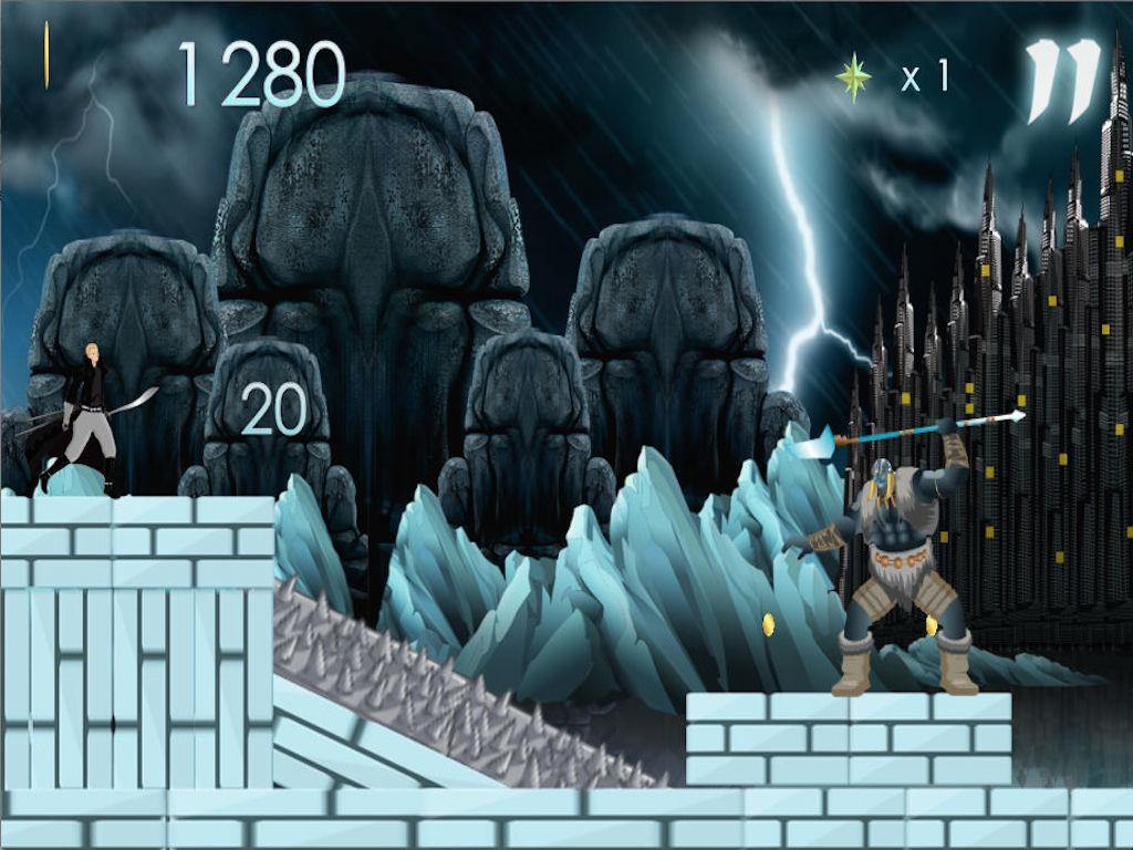 Frozen Temple Battle Run FULL - screenshot
