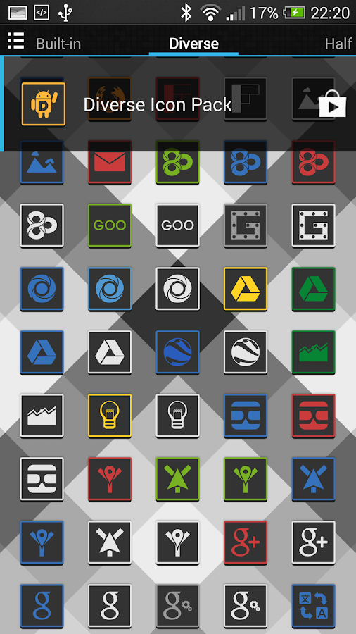 Diverse Icon Pack - screenshot